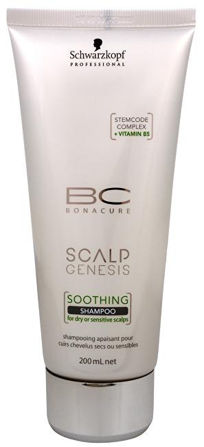 Schwarzkopf Professional Upokojujúci šampón pre suchú a citlivú vlasovú pokožku BC Bonacure Scalp Genesis (Soothing Shampoo) 200 ml
