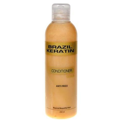 Brazil Keratin Zlatý kondicionér pre poškodené vlasy (Conditioner Anti-Frizz Gold) 300 ml