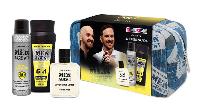 Dermacol Darčeková sada hydratačná kozmetiky pre mužov Men Agent - Total Freedom
