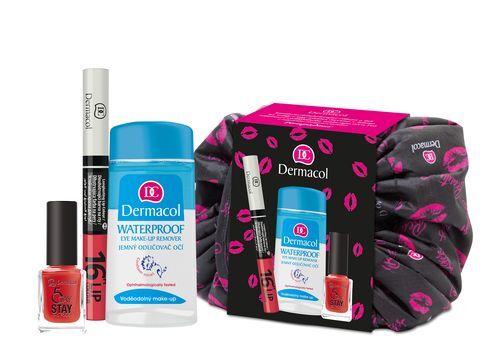 Dermacol Dárkový balíček kosmetiky Sexy Look ve stahovací tašce Pompadour