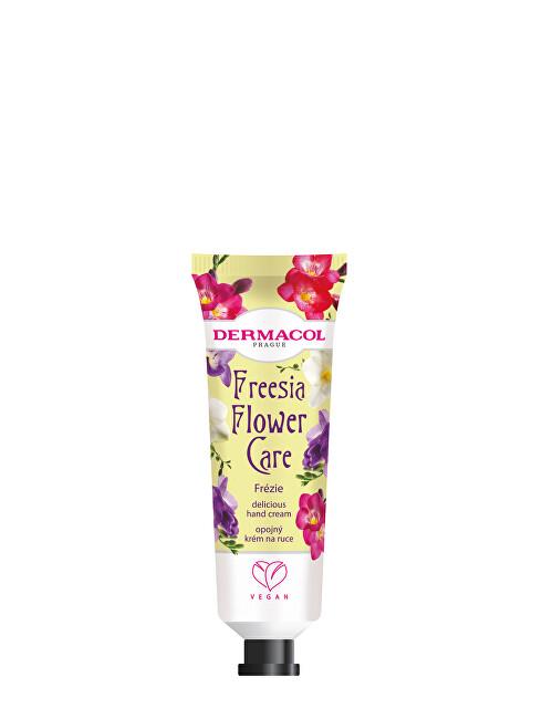 Dermacol Opojný krém na ruce Frézie Flower Care (Delicious Hand Cream) 30 ml