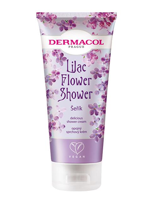Dermacol Opojný sprchový krém Šeřík Flower Shower (Delicious Shower Cream) 200 ml