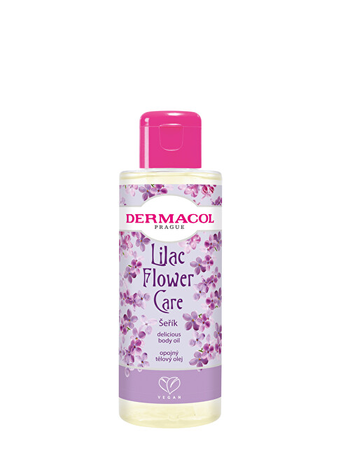 Dermacol Opojný tělový olej Šeřík Flower Care (Delicious Body Oil) 100 ml