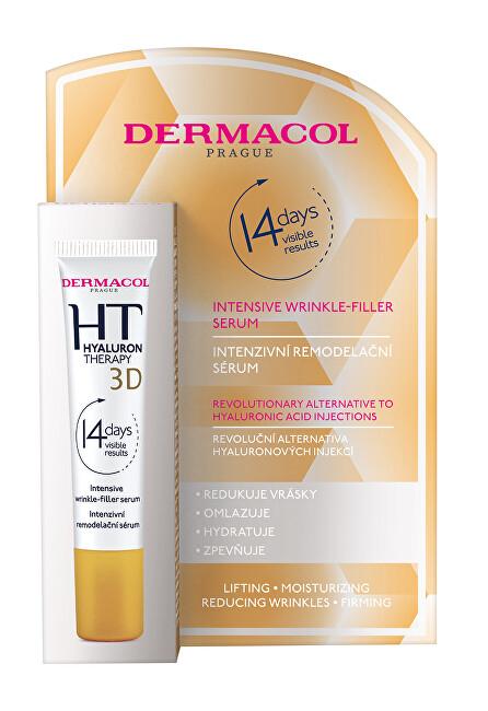 Dermacol Remodelační protivráskové sérum 3D Hyaluron Therapy (Intensive Wrinkle-Filler Serum) 12 ml