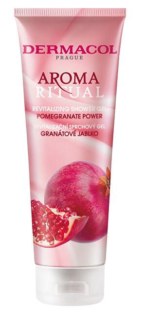 Dermacol Revitalizačný sprchový gél Aroma Ritual Granátové jablko (Pommegranate Power Revitalizing Shower Gel) 250 ml