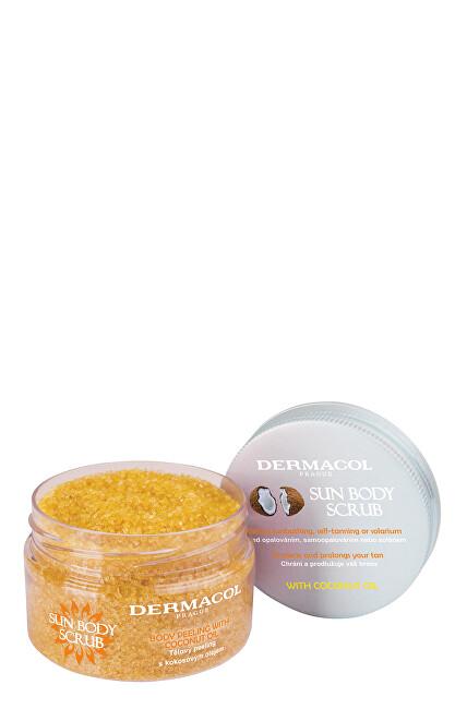 Dermacol Tělový peeling s kokosovým olejem Sun (Body Scrub) 200 g