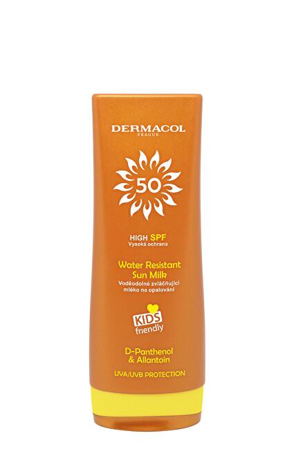 Dermacol Voděodolné zvláčňující mléko na opalování SPF 50 (Water Resistant Sun Milk) 200 ml