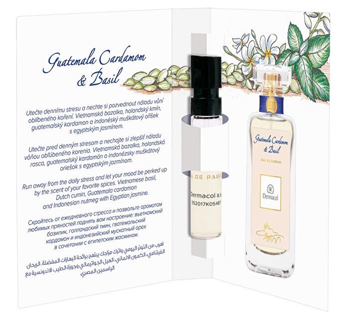Dermacol Guatemala Cardamom & Basil parfémovaná voda unisex 2 ml tester