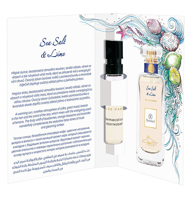 Dermacol Parfémovaná voda Sea Salt & Lime tester 2 ml