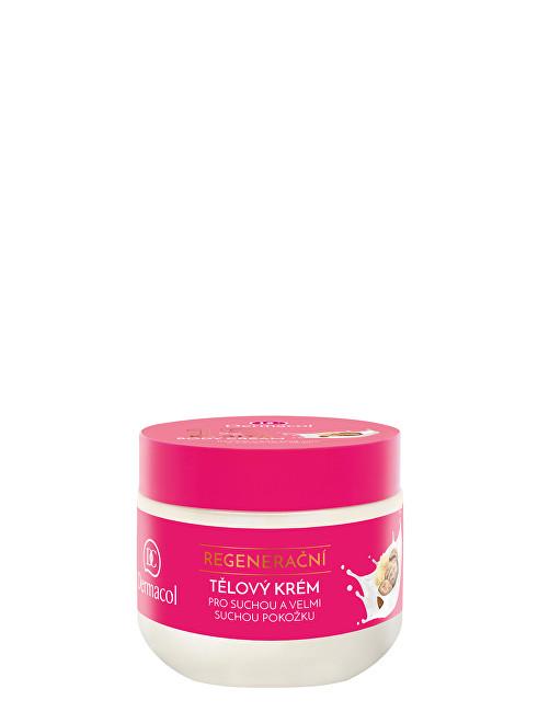 Dermacol Regenerační tělový krém pro suchou a velmi suchou pokožku Karité (Regenerating Body Cream) 300 ml