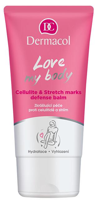 Dermacol Zkrášlující péče proti celulitidě a striím Love My Body (Cellulite & Stretch Marks Defense Balm) 150 ml