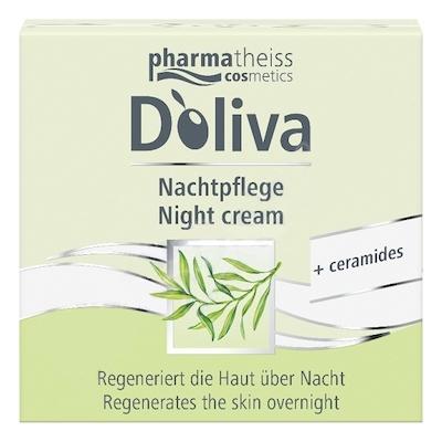 Doliva Noční regenerační krém s ceramidy (Night Cream) 50 ml
