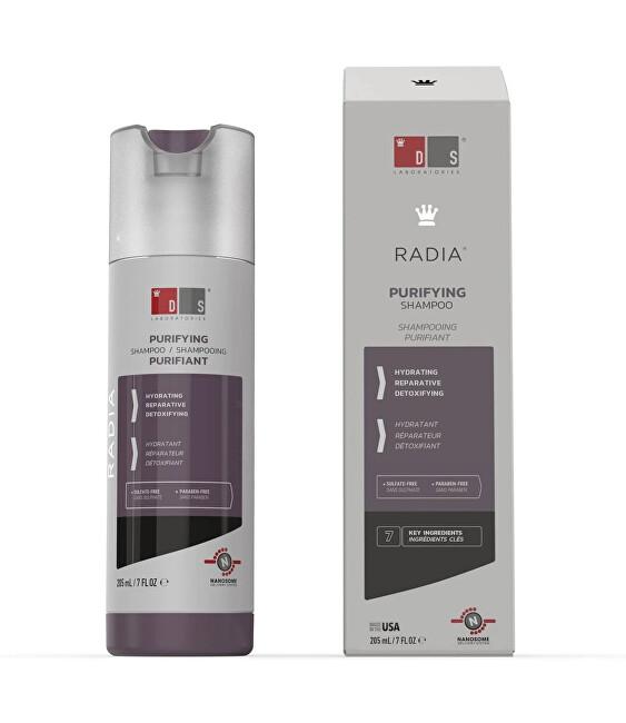 DS Laboratories Šampón pre citlivú pokožku hlavy Radia (Purifying Shampoo) 205 ml