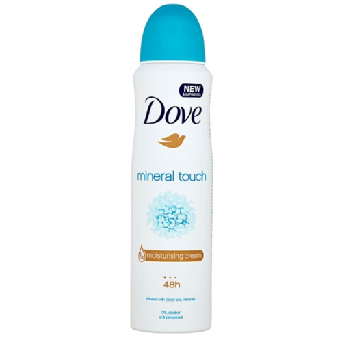 Dove Antiperspirant ve spreji Mineral Touch (Deo Spray) 150 ml