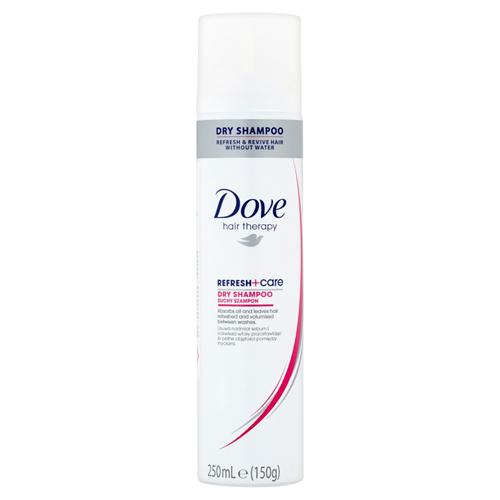 Dove Suchý šampón Hair Therapy refresh + Care (Dry Shampoo) 250 ml