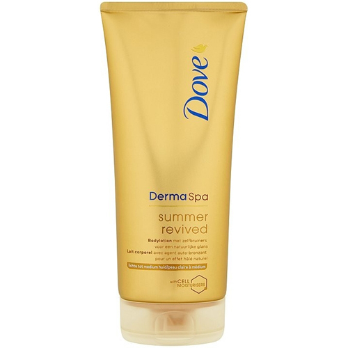 Dove Tónovací tělové mléko Derma Spa Summer Revived (Body Lotion) 200 ml