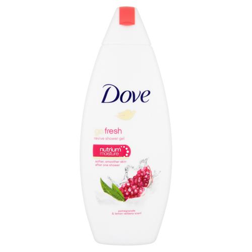 Dove Vyživujúci sprchový gél s vôňou granátového jablka a citrónovej verbeny Go Fresh (Revive Shower Gel) 250 ml