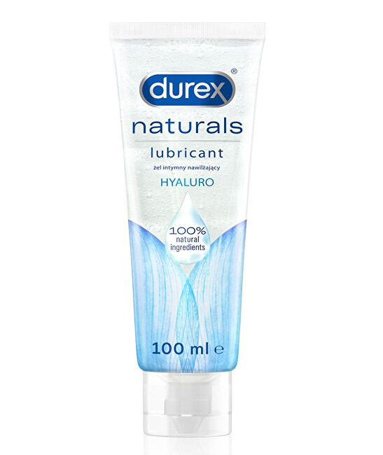 Durex Intímny gél Natura l s Hyaluro 100 ml