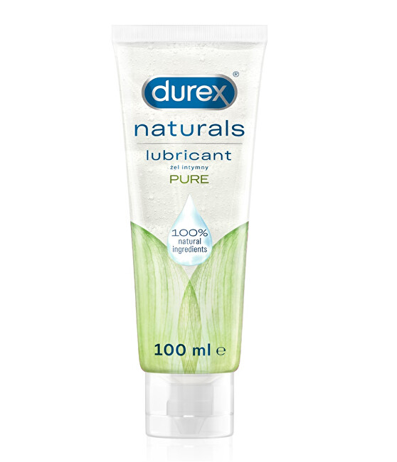 Durex Intímny gél Natura l s Pure 100 ml