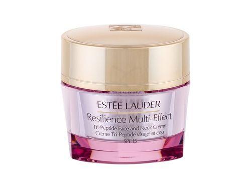 Estée Lauder Vyživujúci krém na tvár a dekolt pre suchú pleť SPF 15 Resilience Multi-Effect (Tri Peptide Face And Neck Creme) 50 ml