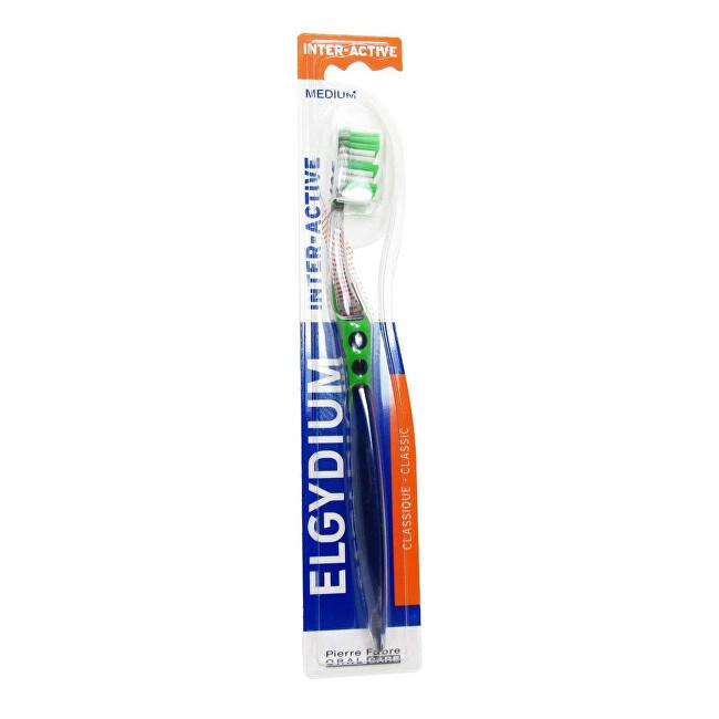 ELGYDIUM Zubní kartáček Inter-Active Medium