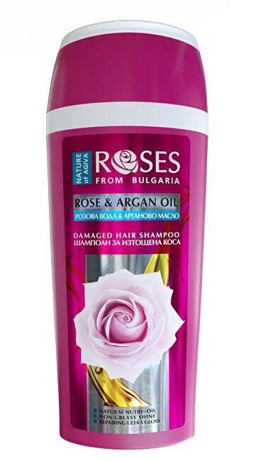 ELLEMARE Šampón pre suché a poškodené vlasy Rose and Argan Oil (Damaged Hair Shampoo) 250 ml