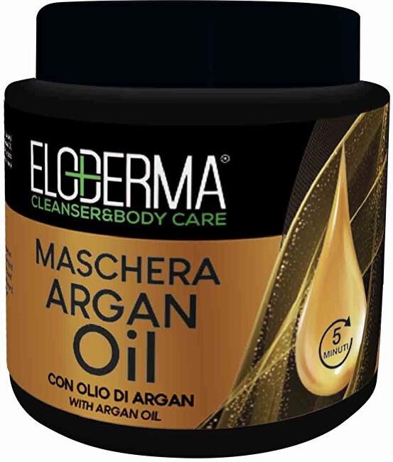 Eloderma Regeneračná maska s arganovým olejom pre poškodené vlasy ( Hair Mask) 500 ml