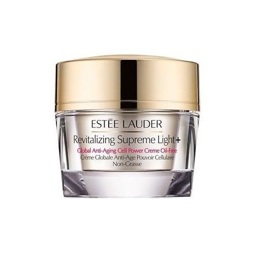 Estée Lauder Multifunkčný protivráskový krém s výťažkom z moringy bez obsahu oleja Revitalizing Supreme Light + Global (Anti-Aging Cell Power Creme Oil-Free) 50 ml