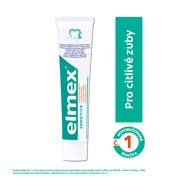 Elmex Zubná pasta Sensitive pre citlivé zuby 75 ml
