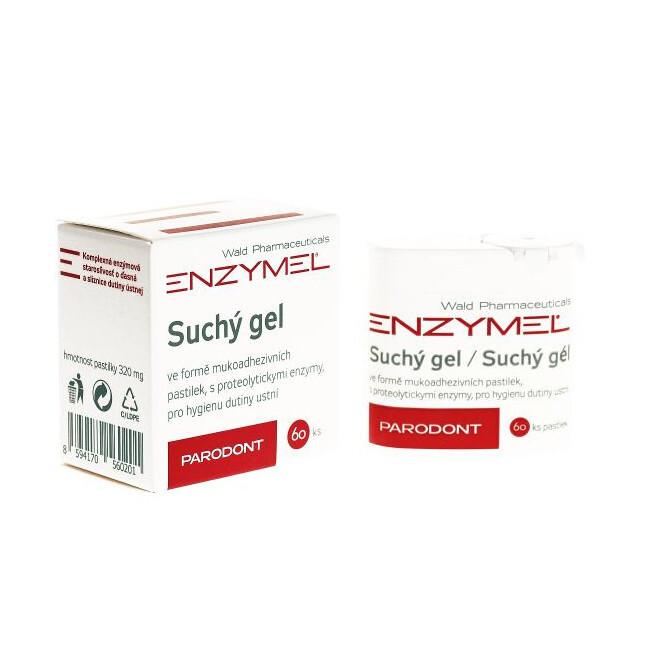 Enzymel Suchý gel pastilky Parodont 60 ks