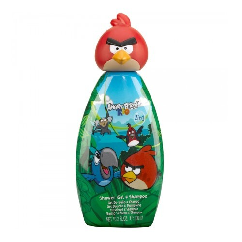 EP Line Sprchový gél a šampón Angry Birds Red Bird Rio 300 ml