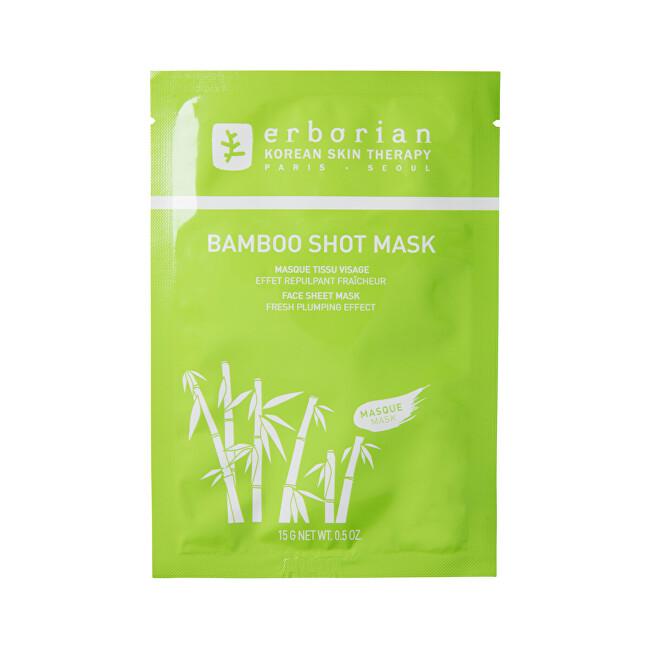 Erborian Hydratační pleťová maska Bamboo Shot Mask (Face Sheet Mask) 15 g