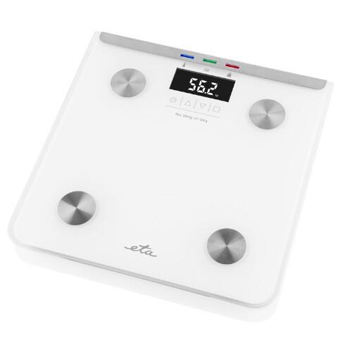 ETA Osobní váha s tělesnou analýzou Laura 0781 0000 bílá
