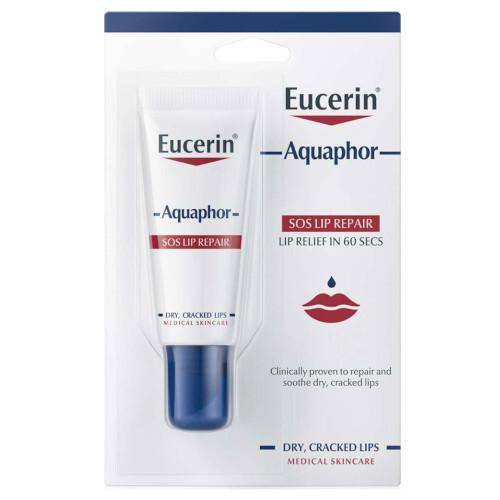 Eucerin Balzám na suché a popraskané rty Aquaphor (SOS Lip Repair) 10 ml