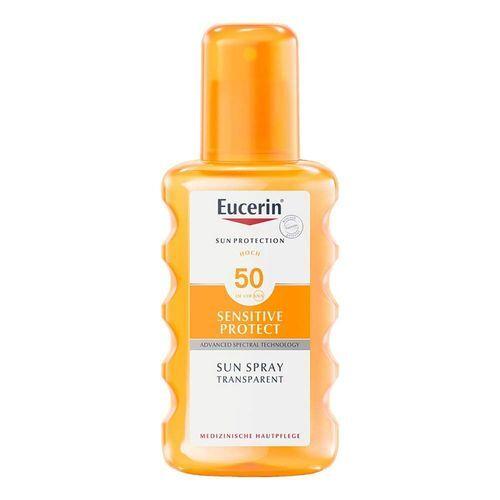 Eucerin Transparentný sprej na opaľovanie SPF 50 (Sun Clear Spray) 200 ml