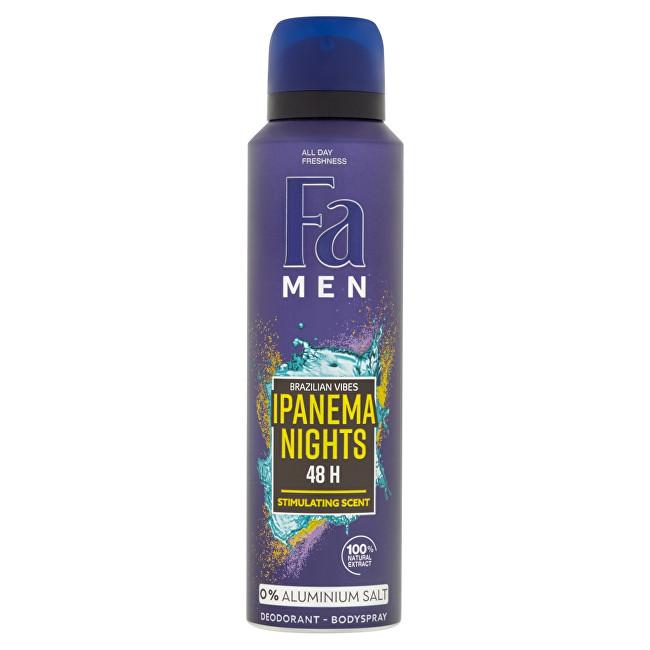 Fa Deodorant ve spreji pro muže Ipanema Nighs 150 ml