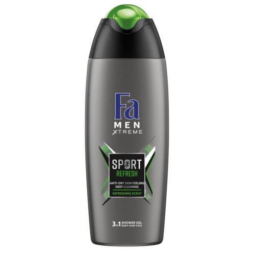 Fa Sprchový gél Men Xtreme Sport Refresh (3in1 Shower Gel) 400 ml