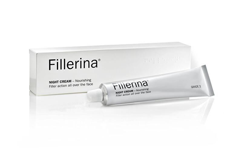 Fillerina Nočný krém proti starnutiu pleti stupeň 2 (Night Cream) 50 ml