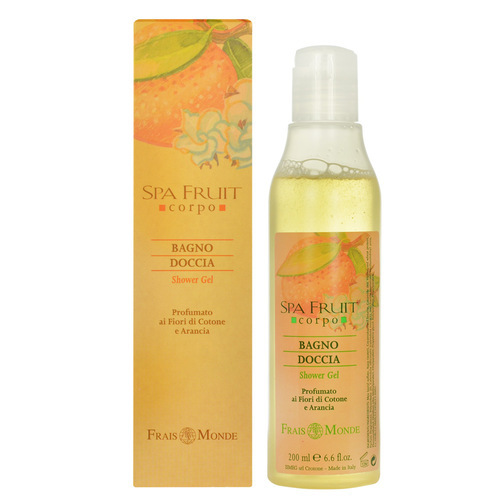 Sprchový gel Bavlník a pomeranč (Spa Fruit Shower Gel Cotton Flower And Orange) 200 ml