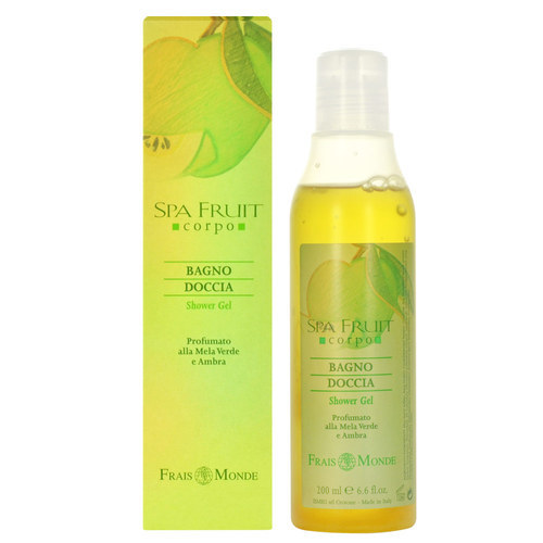 Frais Monde Sprchový gel Zelené jablko a ambra (Spa Fruit Shower Gel Green Apple and Amber) 200 ml