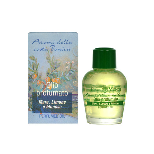 Frais Monde Parfémovaný olej Moře, citron a mimóza (Seaspray Lemon And Mimosa Perfumed Oil) 12 ml
