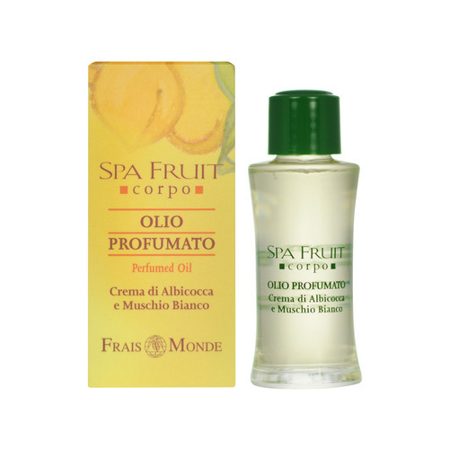 Parfémovaný olej Meruňka a bílý mošus (Spa Fruit Apricot And White Musk Perfumed Oil) 10 ml