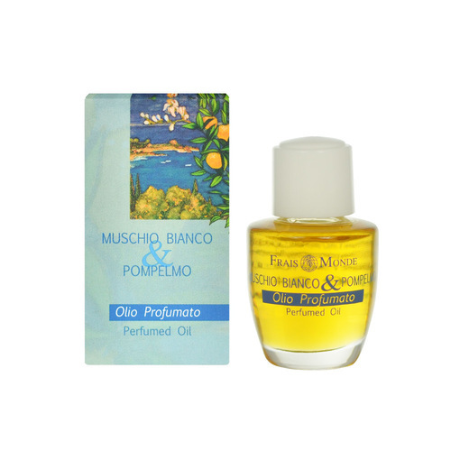 Parfémovaný olej Bílý mošus a grapefruit (White Musk And Grapefruit Perfumed Oil) 12 ml