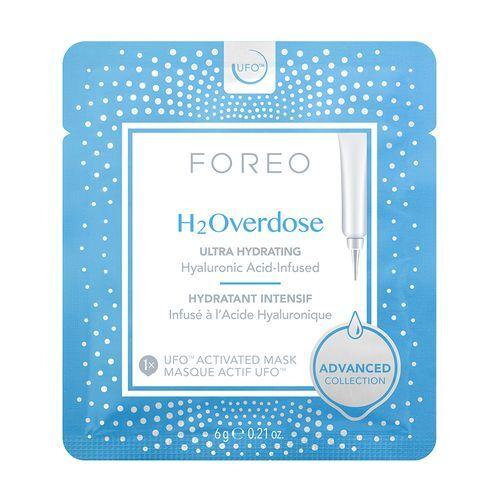 FOREO Intenzivně hydratační a vyživující pleťová maska UFO H2Overdose (Activated Mask) 6 x 6 g