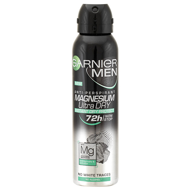 Garnier Antiperspirant pro muže s magnéziem (Magnesium Ultra Dry) 150 ml
