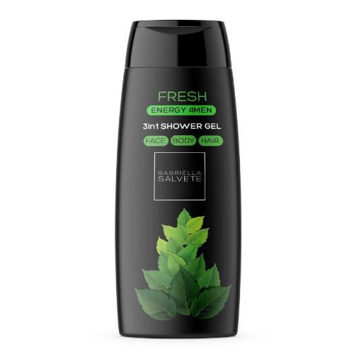 Gabriella Salvete Sprchový gél pre mužov 3 v 1 Fresh Energy 4Men (3in1 Shower Gel) 250 ml