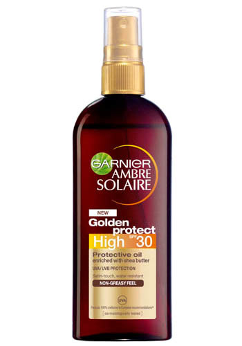Olej na opalování High SPF 30 (Golden Protect) Ambre Solaire 150 ml