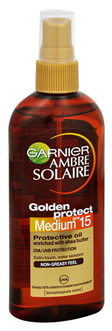 Olej na opalování Medium SPF 15 (Golden Protect) Ambre Solaire 150 ml