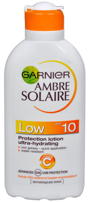 Opalovací mléko Ambre Solaire SPF 10 (Protection Lotion Ultra-Hydrating) 200 ml