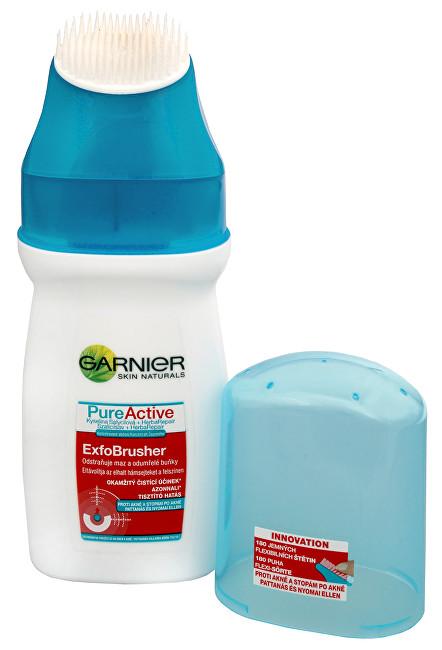 Fotografie Garnier Pure Active ExfoBrusher proti akné 150 ml